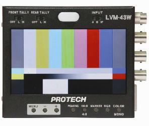 画像1: PROTECH/プロテック 4,3型液晶モニター ミニモニター VF拡張コネクタ無 (1)