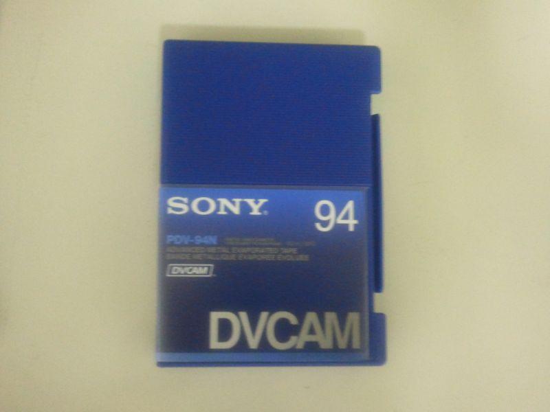画像1: SONY/ソニー DVCAM テープ 94分 メモリーなし 1本  (1)