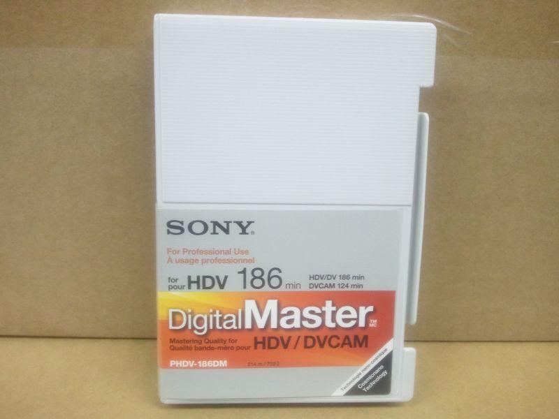 画像1: SONY/ソニー  HDVテープ・186分・スタンダードサイズ 1本 (1)