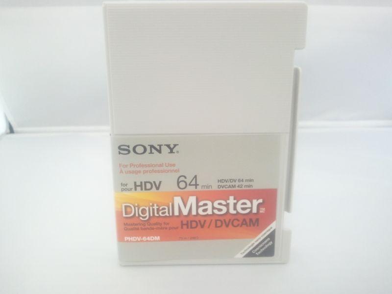 画像1: SONY/ソニー  HDVテープ・64分・スタンダードサイズ 1本 (1)