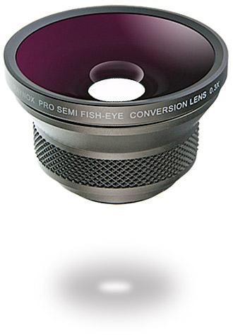画像1: Raynox/レイノックス 0.3倍セミ・フィッシュアイコンバージョンレンズ魚眼 (1)