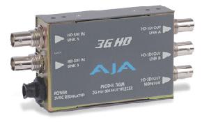 画像1: AJA Video Systems/エージェーエー 3G/1.5G HD-SDIマルチプレクサ (1)