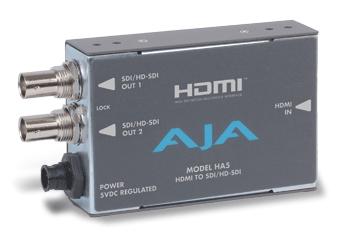 画像1: AJA Video Systems/エージェーエー HDMI → SDI/HD-SDIビデオ & オーディオコンバータ (1)