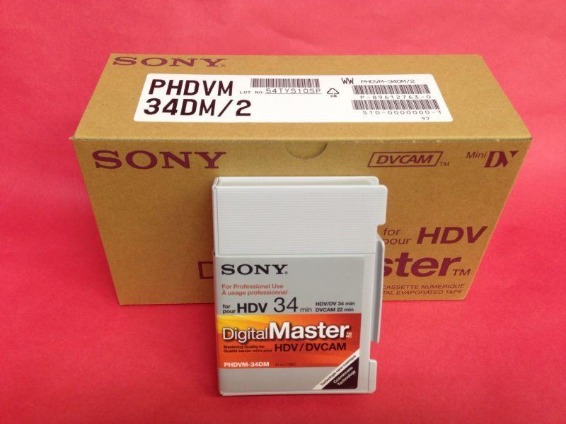 画像1: SONY/ソニー HDVミニテープ 34分 10本セット (1)