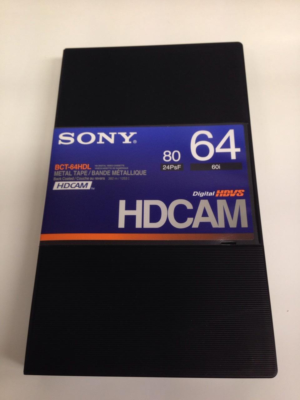 画像1: SONY/ソニー HDCAM ラージカセット64分 1本 (1)