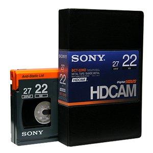 画像1: SONY/ソニー HDCAM スモールカセット22分 1本  (1)