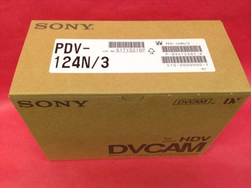 画像1: SONY/ソニー DVCAM テープ 124分 メモリーなし 10本セット (1)