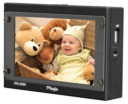 画像1: TVlogic 5.5インチ フルHD液晶ビューファインダー用モニター (1)