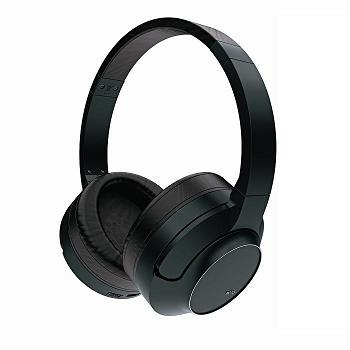 画像1: AZDEN アツデン2.4GHzデジタルハイブリットワイヤレスヘッドフォン【MOTO iD】 ブラック (1)