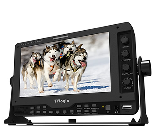 画像1: TVlogic 7型 フルHDパネル高解像度LCDモニター (1)