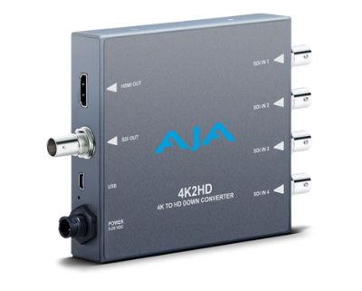 画像1: AJA Video Systems/エージェーエー 4K/UHD から HD-SDI および HDMI へのダウンコンバーター (1)
