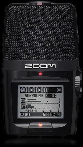 画像1: ZOOM ズーム ハンディレコーダー  (1)