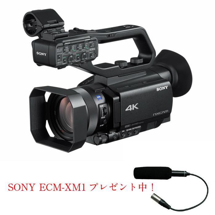 画像1: 【特典付き】SONY/ソニー NXCAMカムコーダー HXR-NX80 ビデオカメラ 業務用  (1)