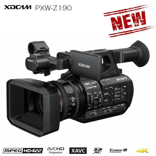 画像1: SONY ソニー ビデオカメラ 新開発1/3型 3CMOS 4K60p収録 光学25倍ズーム ハンディカムコーダー XDCAM (1)