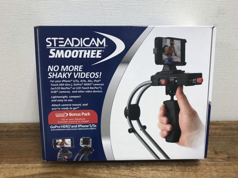 画像1: 【中古品1回のみ使用】 Steadicam ステディカム スムージー GoPro & i Phone5 用セットスタビライザー STEADICAM SMOOTHEE[スムージー GoPro & i Phone5 用セット] (1)
