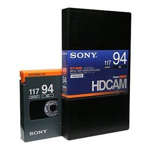 画像1: SONY/ソニー HDCAM ラージカセット94分 1本 (1)