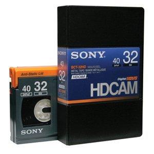 画像1: SONY/ソニー HDCAM スモールカセット32分 1本  (1)