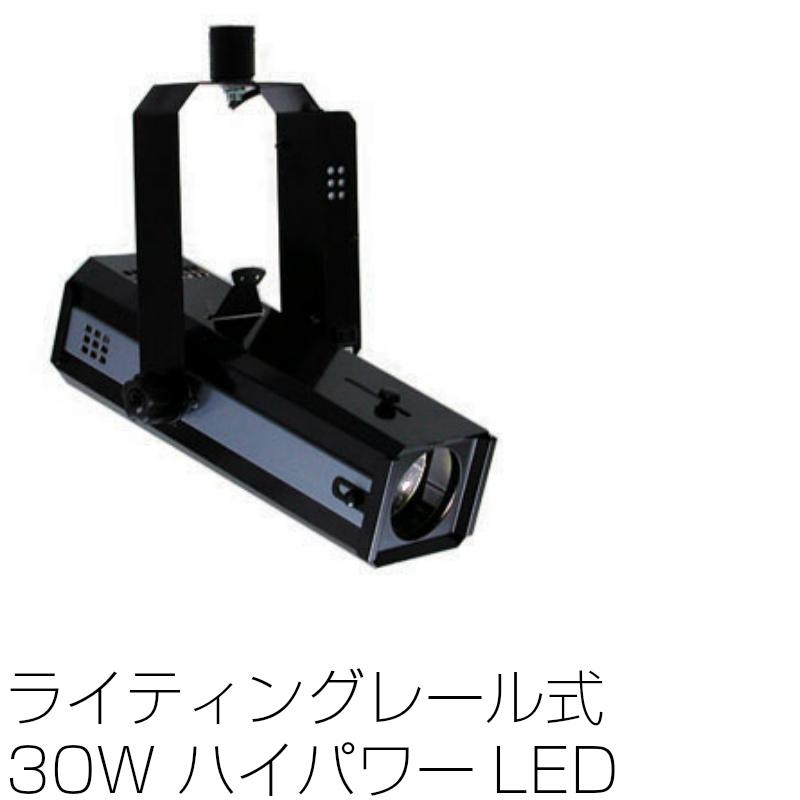 画像1: スポットライト LEDライティングレール式 30W LEDエコピンスポット 調光不可 NLE-9626K ブラック (1)