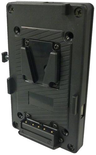 画像1: NEP エヌイーピー Vマウントプレート PV-12V5V-USB1  (1)