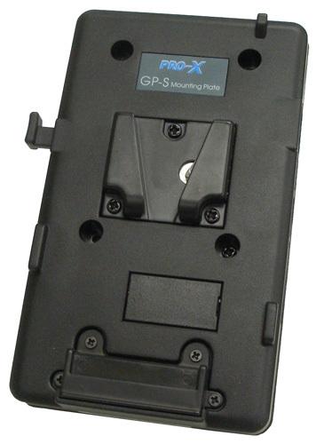 画像1: NEP エヌイーピー Vマウントプレート GP-S2PT 機器装着用(4点ネジ穴あり) (1)