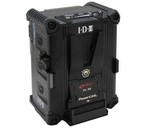 画像1: IDX/アイディーエクス IPL-98 96Wh(14.4V/6.6Ah) Vマウントタイプリチウムイオンバッテリー (1)