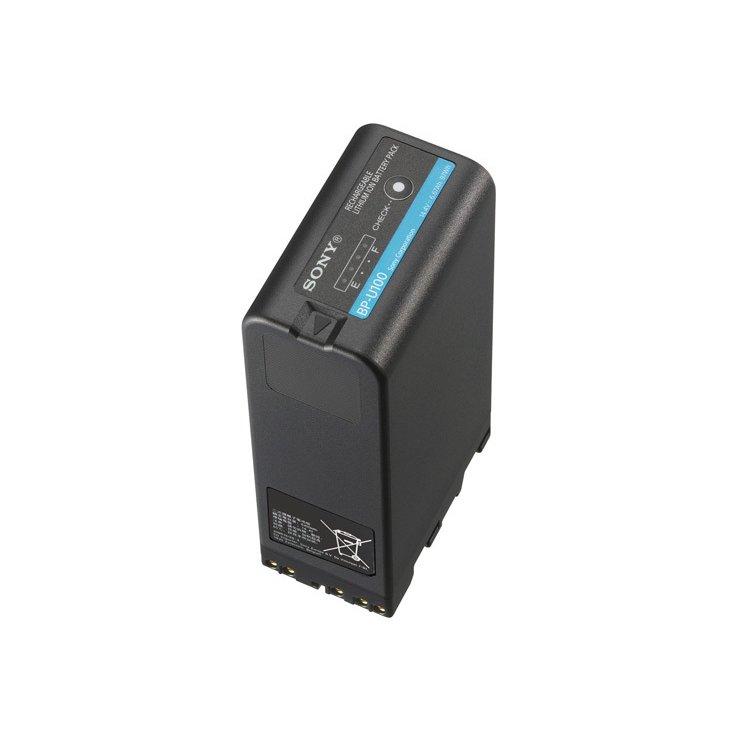画像1: SONY/ソニー XDCAMハンディカムコーダー用リチウムイオンバッテリー BP-U100 (1)