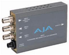 画像1: AJA Video Systems/エージェーエー 4チャンネルオーディオA/D・D/Aコンバータ (1)
