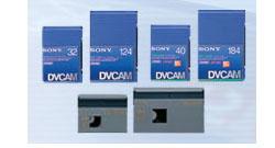 画像1: SONY/ソニー DVCAM テープ 34分 メモリーなし 10本セット (1)