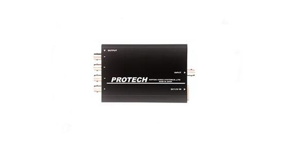 画像1: PROTECH/プロテック 1入力4分配HD-SDI分配器 (1)